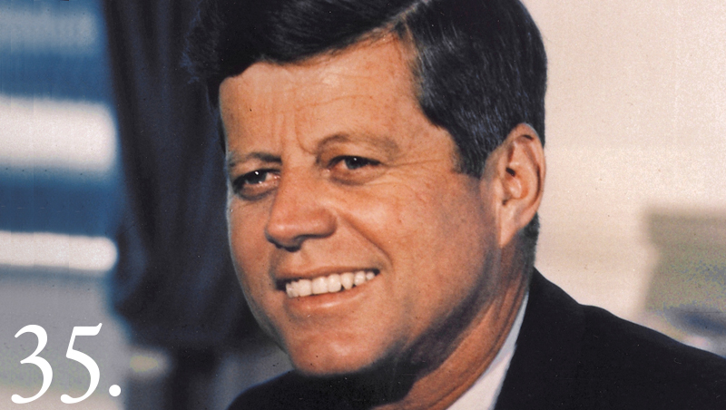 John F Kennedy assassinated November 22