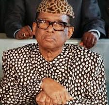 mobutu sese seko becomes Zaire's President on November 24, 1995