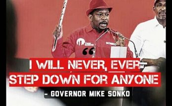 Mike Sonko says he will not step down for Peter Kenneth