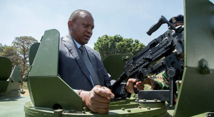 President Uhuru Kenyatta hands over 500 new vehicles to police service