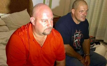 South Africa Nationals Barend (Left) and Marc (Right) suspected to be in the drug trafficking network after they were arrested at the Nyali apartments in Mombasa