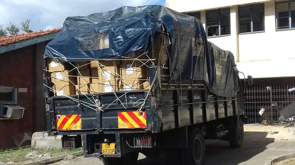 stolen drugs recovered; lorry, transport