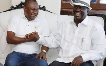 badi twalib with Raila Odinga