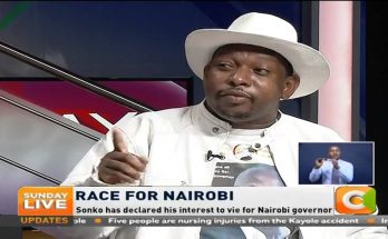 Why Sonko is angry with Peter Kenneth 1