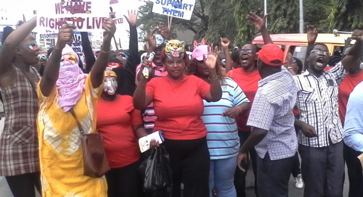 mombasa sex workers protest
