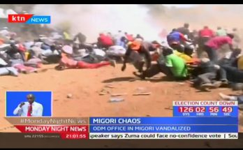 Migori Chaos: Gunshots, tear gas and injuries rock ODM rally 1