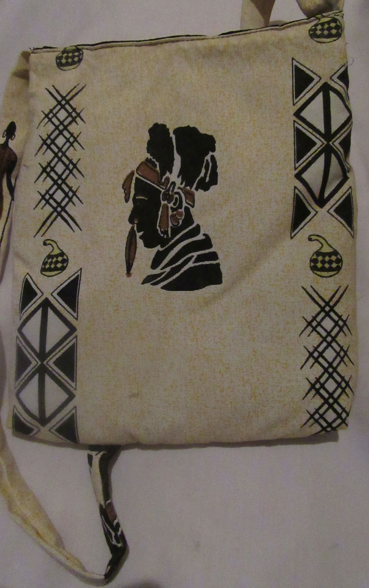 Custom fabric bags from Afrisoko