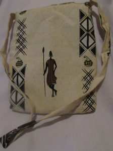 Custom fabric bag by Afrisoko Gift Shop, +254-796-782-386