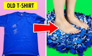 DIY for old t-shirts 1