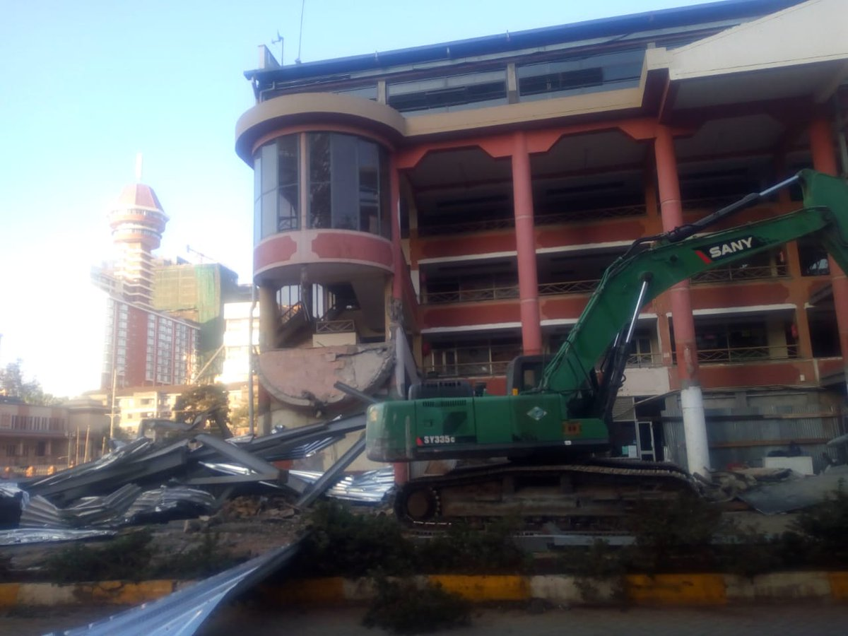 ukay mall demolition