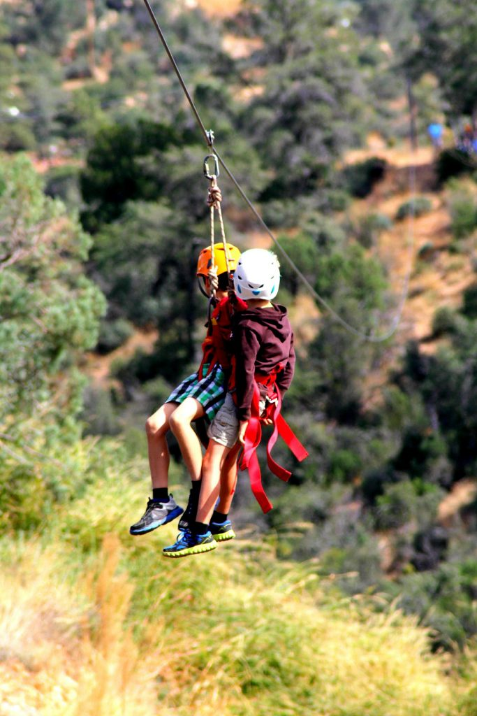 Zip lining in Kenya: The Forest zip line tour 1