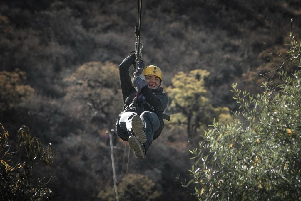 Zip lining in Kenya: The Forest zip line tour 2